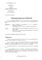 Compte rendu Conseil Municipal 10 décembre 2020
