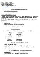 CR Conseil école 02/11/2020