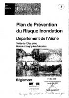 Réglement PPRI Origny